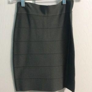 Bebe bodycon mini skirt